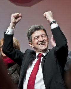 Jean-Luc Mélenchon visiblement heureux de sa campagne