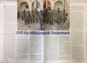 """Beitrag der FPÖ Steiermark in der """"Aula"""""""